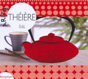 Reception Arita 7321491 Teapot Cast Iron 0.6 L Red