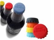 Homgaty 6PCS Silicone Reusable Bottle Cap Cover Sealer / Beer Soda Wine Savers / Lids
