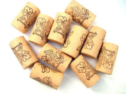 100 NEW QUALITY STRAIGHT VINE DESIGN CORKS FOR WINE HOME WINEMAKING