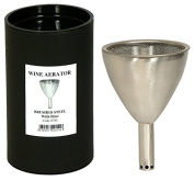 Stainless Steel Wine Decanting Aerator with filter