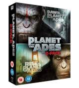 Rise of the Planet of the Apes/Dawn of the Planet of the Apes [Region B] [Blu-ray]