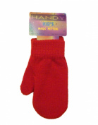 Baby Toddler Magic Mittens Assorted Colours Soft Stretchy red