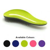 Simply Beautiful De Tangle Brush - Professional Detangling Hairbrush - Pink, Black, Purple, Blue or Green