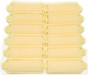 Pack of 12 Medium Size Foam Hair Rollers [7/8th inch diameter] Brand New in Packet