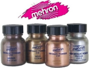 Mehron Theatrical Metalic Powder 30ml Gold