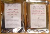 Soil Association Certified Organic Henna 100g & Organic Indigo 100g