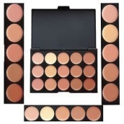 Boolavard® TM 15 Shades Colour Concealer Makeup Palette Kit