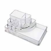 Cosmetic Make Up Clear Acrylic Organiser 8 Sections #92