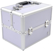 Beauty-Boxes St Tropez Lilac Cosmetics and Make-up Beauty Case