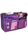 BeautyLife Handbag Organiser ,Organiser Large, Insert, Travel Bag, 12 Pockets