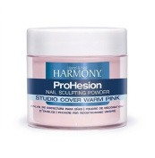 Nail Harmony Prohesion Sculpting Powder - STUDIO COVER WARM PINK - 105g