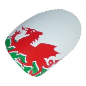 Chix Nails Nail Wraps Welsh Flag Wales Green White The Red Dragon Fingers Toes Vinyl Foils Minx Trendy Style
