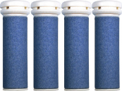 4 x Scholl Express Pedi Compatible Refill Extra Coarse Replacement Rollers