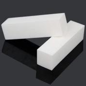 TNBL White 4 Way Nail Buffer Block 100/100 Grit - 20 pieces