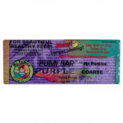New! Purple Pumi Bar Mr Pumice Hard Skin Callus Remover Bar Hands Feet Elbow