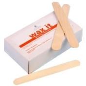 Cyclax Wax It Wooden Waxing Spatulas 100 - CYC2010