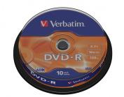 Verbatim DVD-R x 10 - 4.7 GB - storage media