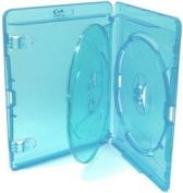 Genuine Amaray Blu-Ray Triple (3) Disc Storage Cases - 14mm Spine -