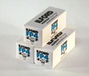 Ilford FP4+ 120 Roll 3 Pack