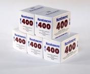 Kentmere 400asa Black & White Film 35mm 36exp 5 Pack