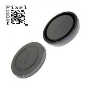Body Cap & Rear Lens Cap for Sony E-Mount (NEX, A6000, A7 etc) Cameras and E Mount Lenses