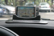 eGadget Universal Dashboard Sticky Pad Universal GPS / Sat Nav Suction Mount Holder for GPS Devices and Mobile Phones