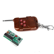 Generic 4 Channel 433Mhz RF Radio Wireless Controller Module Remote Control