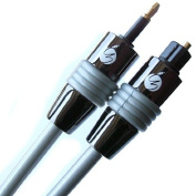 Fisual 7.5m Instal Series Mini-Toslink to Optical Cable