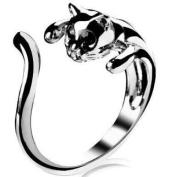 Cat Shape Ring, Adjustable Size