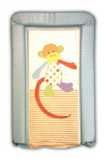 Baby Changing Mat Padded Luxurious Comfortable Patch The Monkey