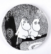 Moomin MO984D Small Plate Life is Hard