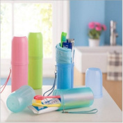 Homgaty Travel Toothbrush Holder Cover Hiking Camping Tooth Brush Case Box