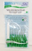 TePe Interdental Brushes 0.8mm Green - 1 Packets of 8