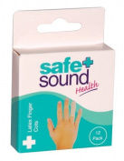 Safe & Sound Latex Finger Cot 12 Assorted Sizes
