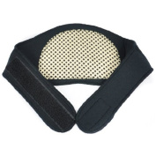 Self Heating Neck Wrap -- Healthy Neck Brace Support Strap -- Release Pain Relief -- Black