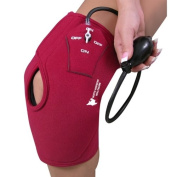 Inflatable Hot & Cold Compression Knee Wrap Support