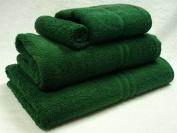 Blue Label 500gsm Plain Hand Towel Bottle Green