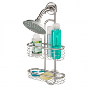 InterDesign Forma Ultra Shower Caddy, Polished Stainless Steel