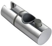 25mm Chrome Shower Head Holder Slider Bracket To Fit 25mm Riser Rail