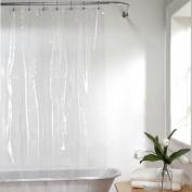 Hoter PEVA Shower Curtain, Clear, 178*180 CM