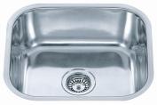 Kitchen Sinks Polished Stainless Steel Undermount Bowl 430 x 375