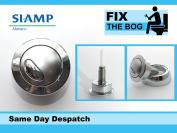 Siamp Optima 49 Toilet Push Button Dual Flush Water Saving Chrome