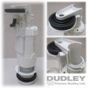 Thomas Dudley Pinto Air Pneumatic Pushflo Single Flush Concealed Cistern Valve 316129
