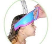 Megatek® Baby Kids Children Safe Shower Bath Wash Washing Hair Waterproof Sunshade Shield Cap Shampoo Visor Kids, Infant, Child, Baby Products bébé, nourrisson, enfant - Colour randomly
