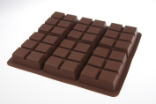6 cell TOFFEE / FUDGE Chocolate Mould (100g) Professional Silicone Bar Mould Soap