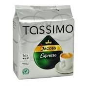 """TASSIMO JACOBS """"ESPRESSO"""" x 5 Pack"""