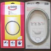Seb 980157 Seal for Pressure Cooker 4.5 L / 6 L Diameter 220 mm Stainless Steel