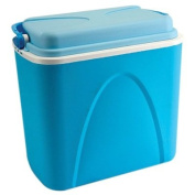 24 Litre Large Blue Food Drink Picnic Beach Camping Insulated Ice Pack Cool Box
