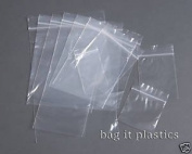 200 Plastic Resealable Grip Seal Bags 3.5 x 4.5