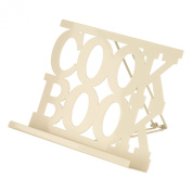 Premier Housewares Cookbook Stand - Cream